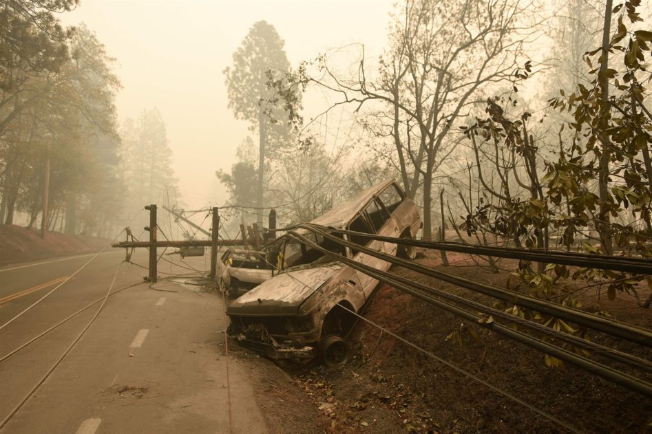 PG&E's role in the deadly camp fires, bankruptcy planned