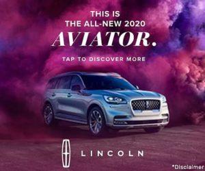 Rich media ad, Lincoln Aviator